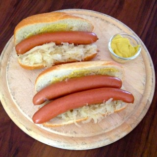 Hot Dogs à la Choucroute
