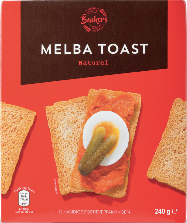 Backers Melba Toast